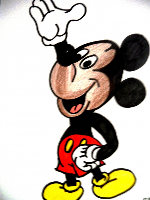 Mickey Mouse by kathy
